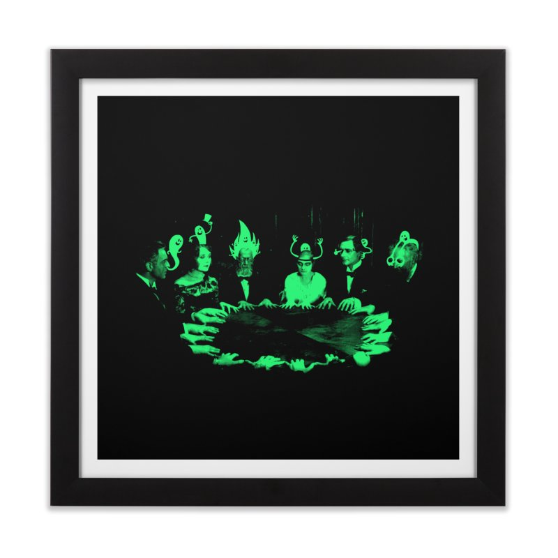 Night Vision Occult Home Framed Fine Art Print by sachpica's Artist Shop