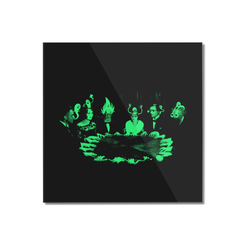 Night Vision Occult Home Mounted Acrylic Print by sachpica's Artist Shop