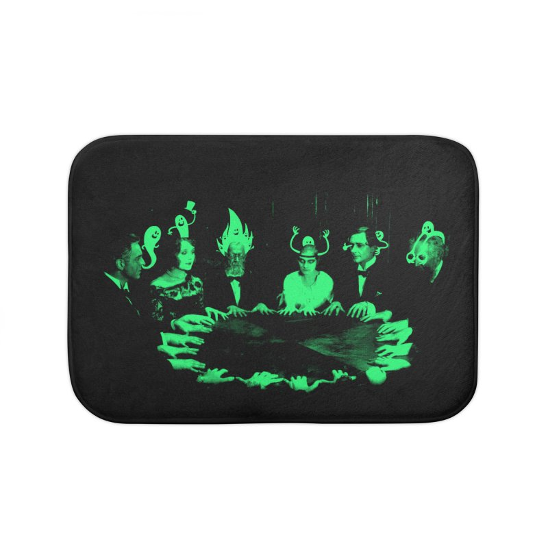 Night Vision Occult Home Bath Mat by sachpica's Artist Shop