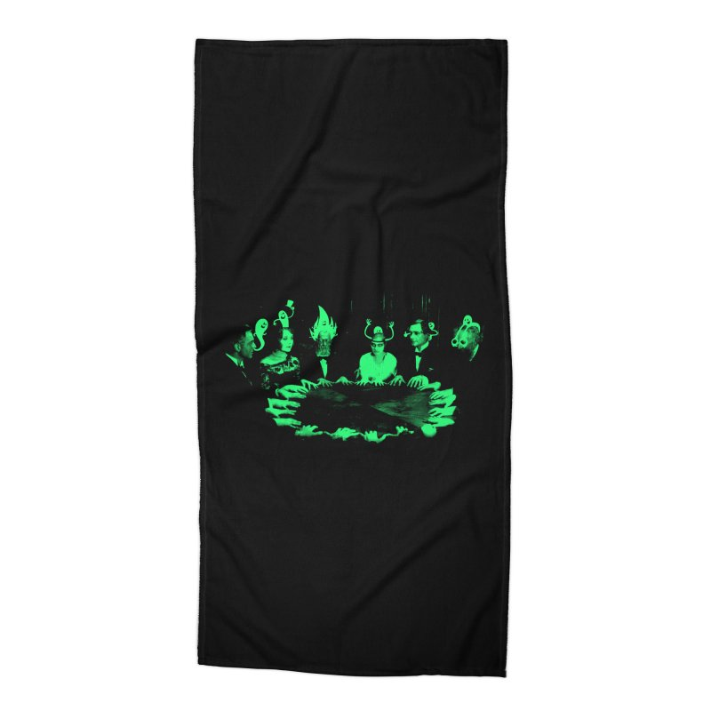 Night Vision Occult Accessories Beach Towel by sachpica's Artist Shop