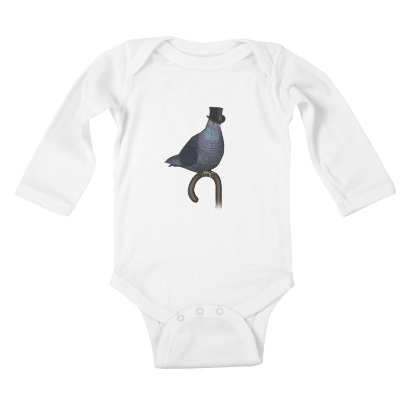 Bad Habits Kids Baby Longsleeve Bodysuit by sachpica's Artist Shop