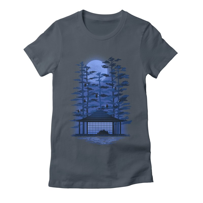 Coffee break Women's Fitted T-Shirt by sachpica's Artist Shop