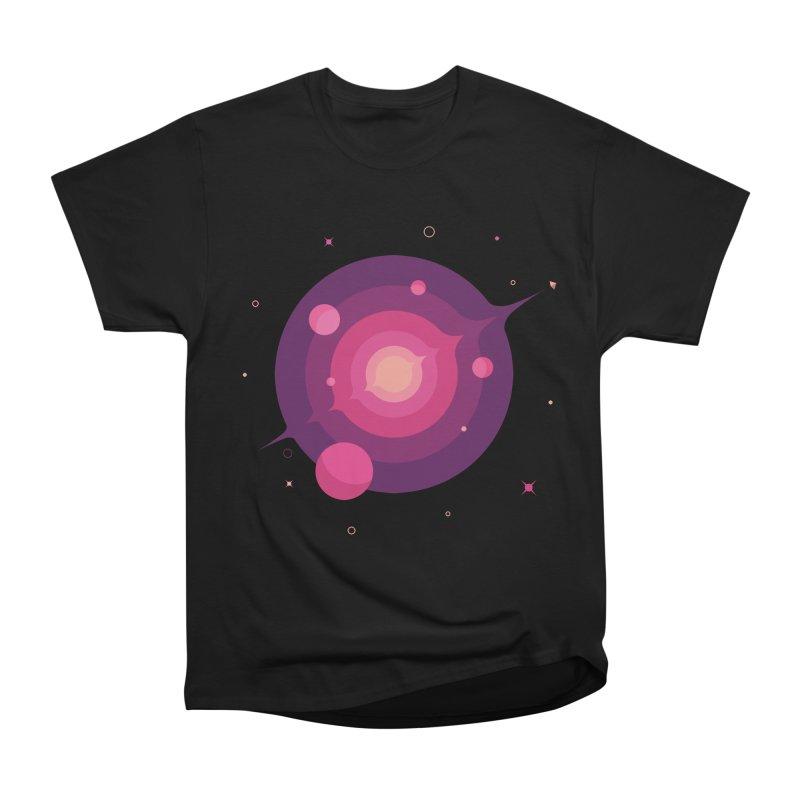Interstellar Adventure Journey Men's Heavyweight T-Shirt by sachpica's Artist Shop