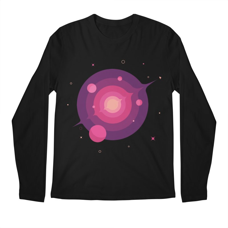 Interstellar Adventure Journey Men's Longsleeve T-Shirt by sachpica's Artist Shop