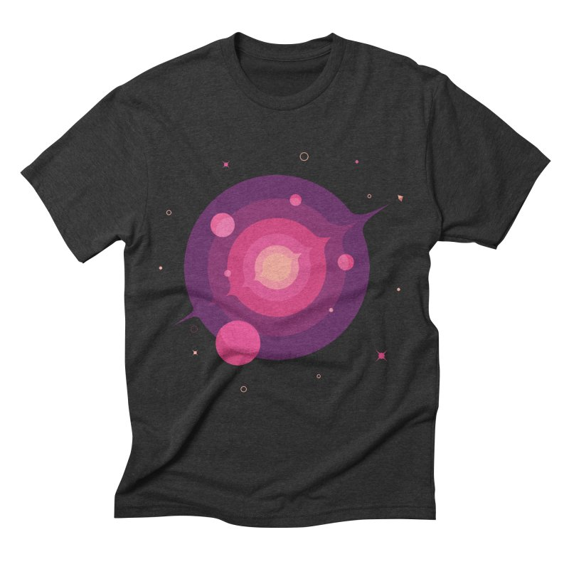 Interstellar Adventure Journey Men's Triblend T-Shirt by sachpica's Artist Shop