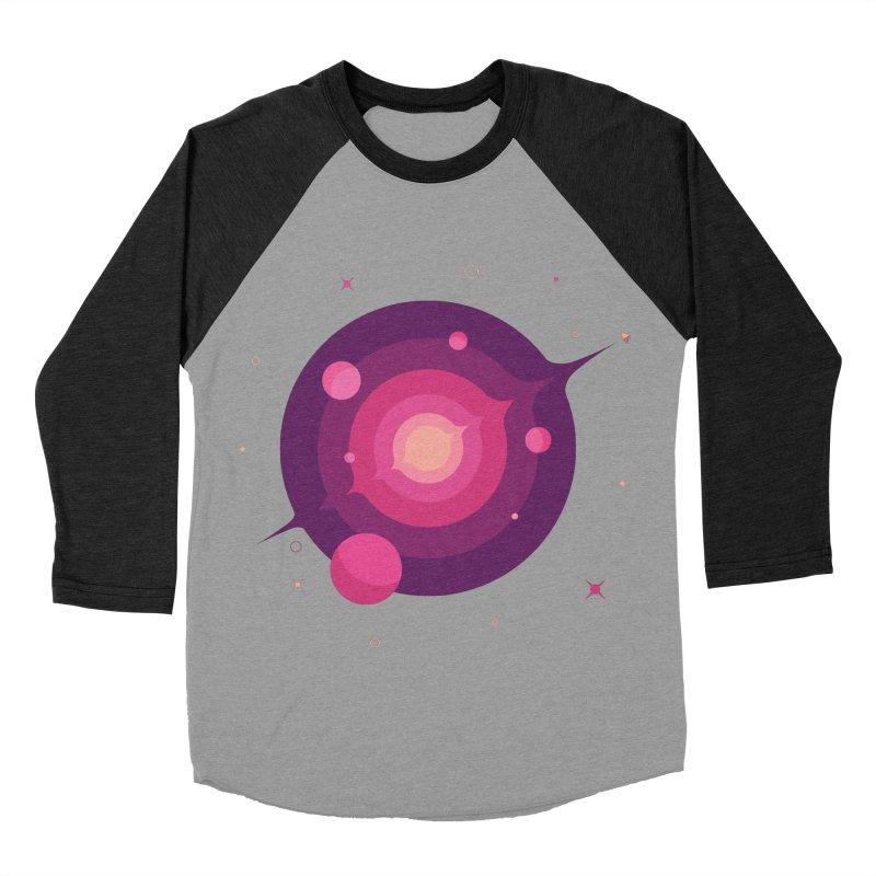 Interstellar Adventure Journey Men's Baseball Triblend T-Shirt by sachpica's Artist Shop