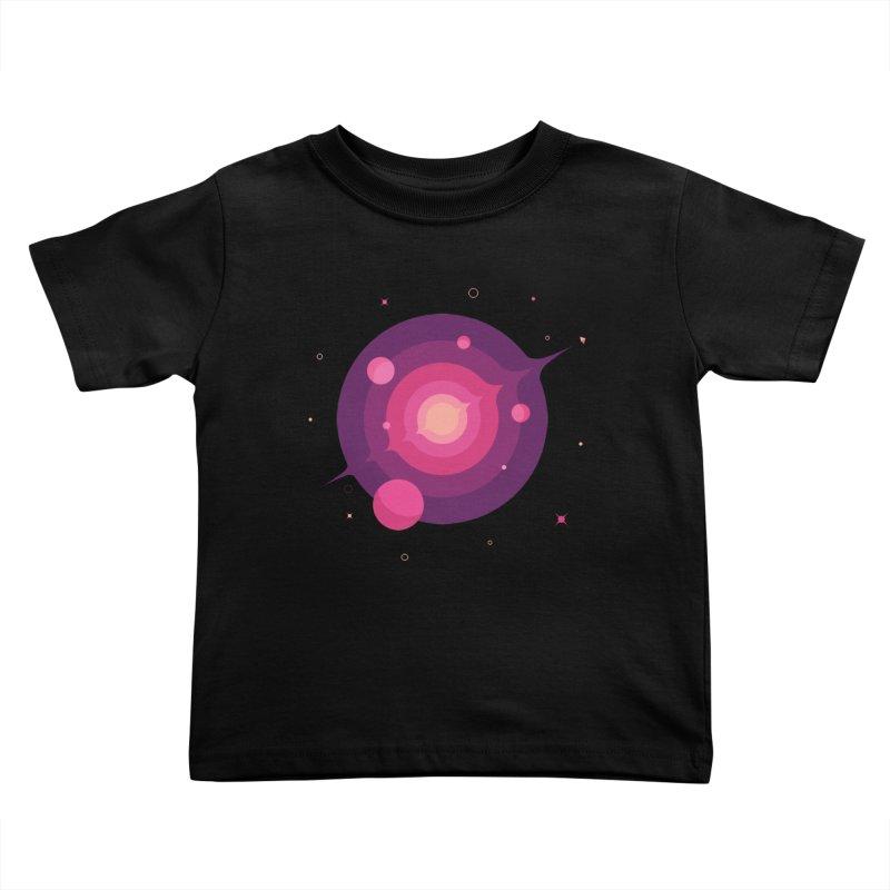 Interstellar Adventure Journey Kids Toddler T-Shirt by sachpica's Artist Shop