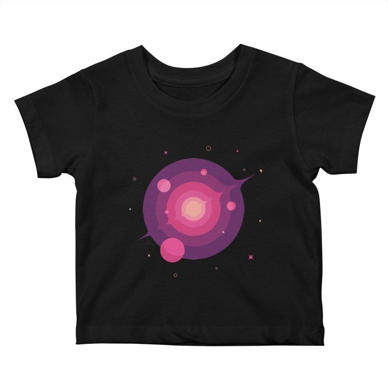 Interstellar Adventure Journey Kids Baby T-Shirt by sachpica's Artist Shop