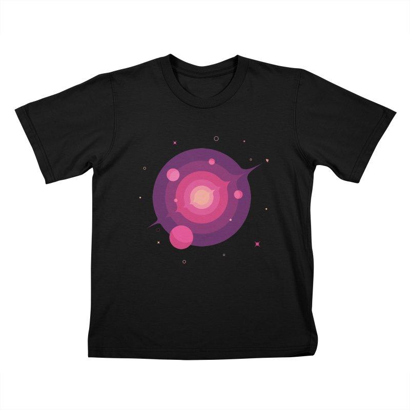 Interstellar Adventure Journey Kids T-Shirt by sachpica's Artist Shop