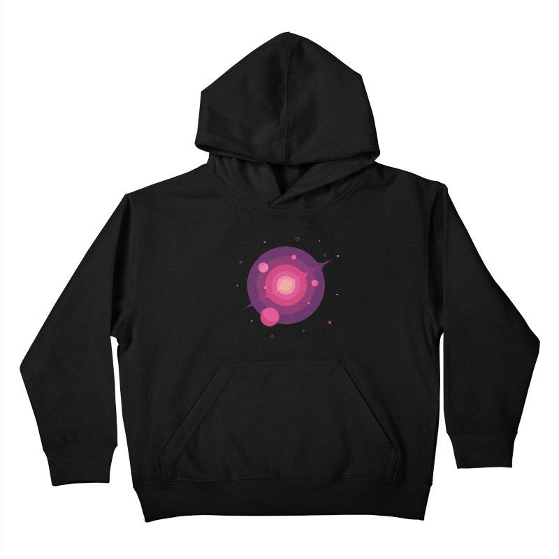 Interstellar Adventure Journey Kids Pullover Hoody by sachpica's Artist Shop