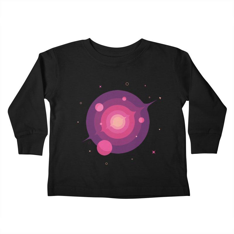 Interstellar Adventure Journey Kids Toddler Longsleeve T-Shirt by sachpica's Artist Shop