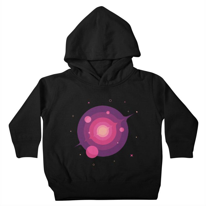 Interstellar Adventure Journey Kids Toddler Pullover Hoody by sachpica's Artist Shop