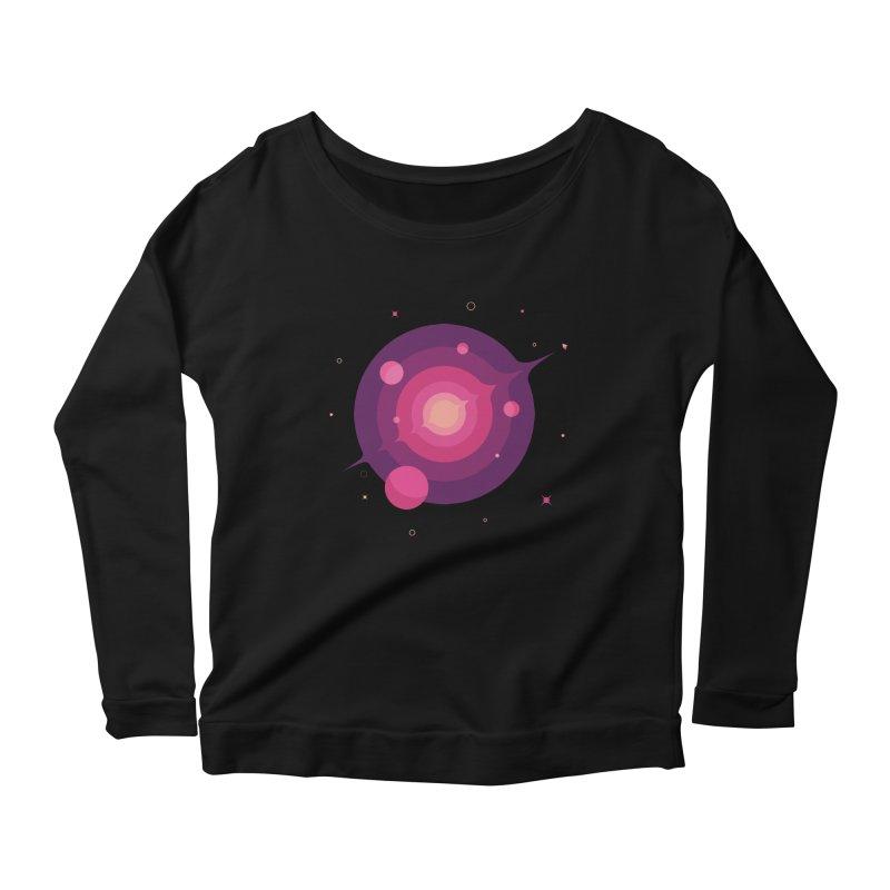 Interstellar Adventure Journey Women's Longsleeve Scoopneck  by sachpica's Artist Shop