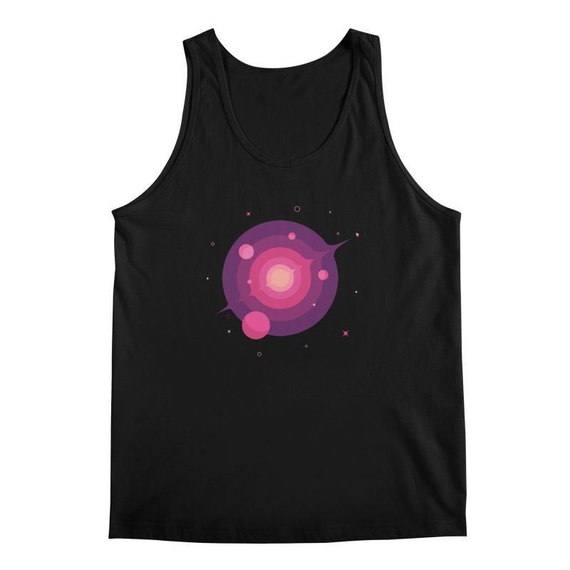 Interstellar Adventure Journey Men's Tank by sachpica's Artist Shop