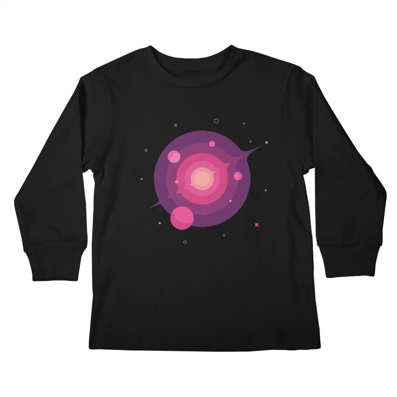 Interstellar Adventure Journey Kids Longsleeve T-Shirt by sachpica's Artist Shop