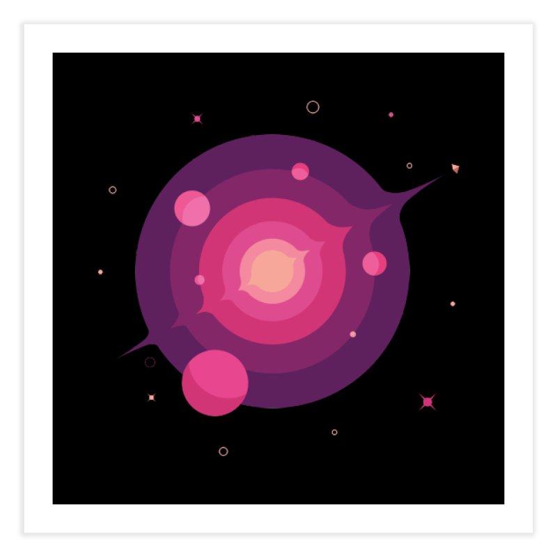 Interstellar Adventure Journey Home Fine Art Print by sachpica's Artist Shop