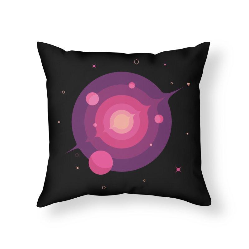Interstellar Adventure Journey Home Throw Pillow by sachpica's Artist Shop