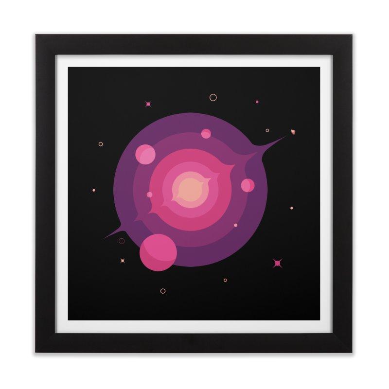 Interstellar Adventure Journey Home Framed Fine Art Print by sachpica's Artist Shop