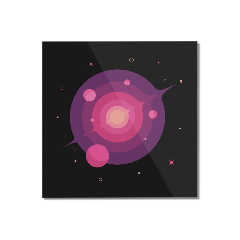 Interstellar Adventure Journey Home Mounted Acrylic Print by sachpica's Artist Shop