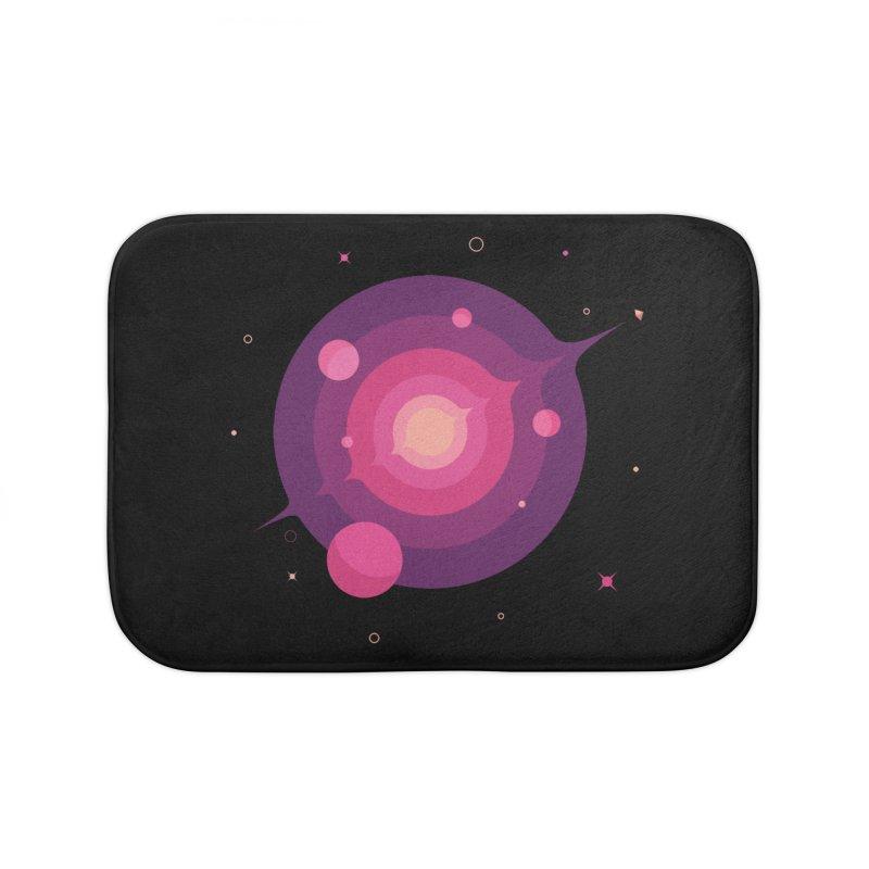Interstellar Adventure Journey Home Bath Mat by sachpica's Artist Shop