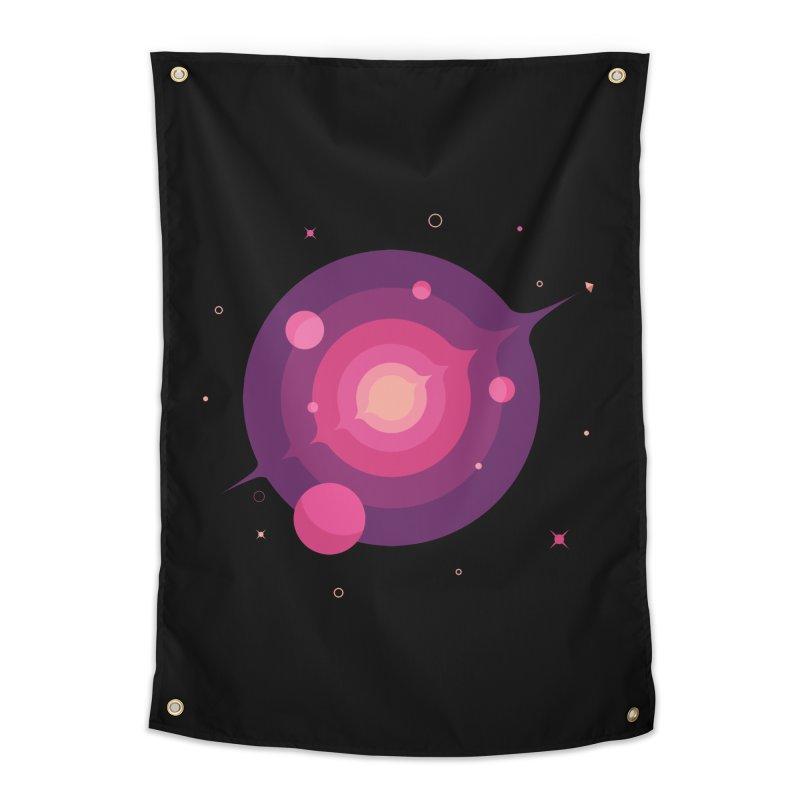 Interstellar Adventure Journey Home Tapestry by sachpica's Artist Shop