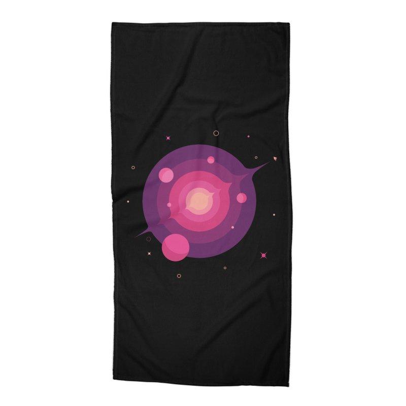 Interstellar Adventure Journey Accessories Beach Towel by sachpica's Artist Shop