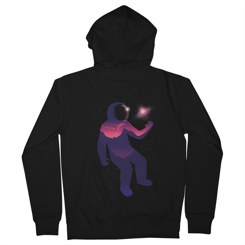 The Galaxy is not the limit Men's Zip-Up Hoody by sachpica's Artist Shop