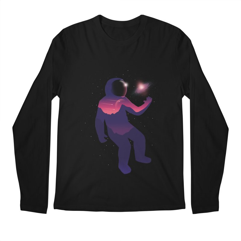 The Galaxy is not the limit Men's Longsleeve T-Shirt by sachpica's Artist Shop