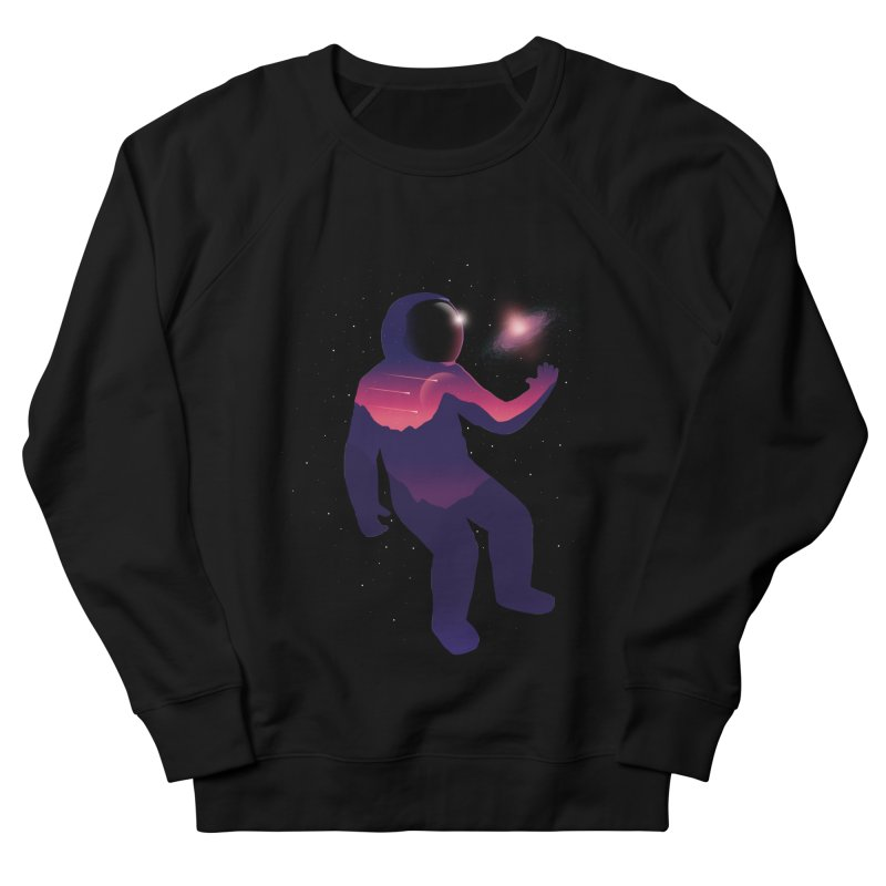 The Galaxy is not the limit Men's Sweatshirt by sachpica's Artist Shop