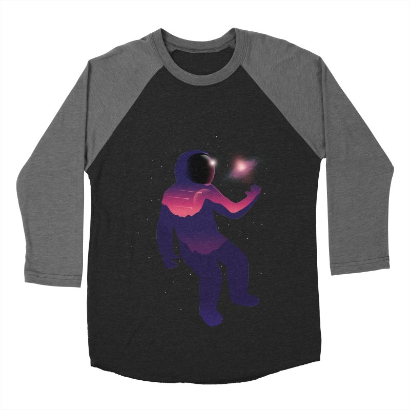 The Galaxy is not the limit Men's Baseball Triblend T-Shirt by sachpica's Artist Shop