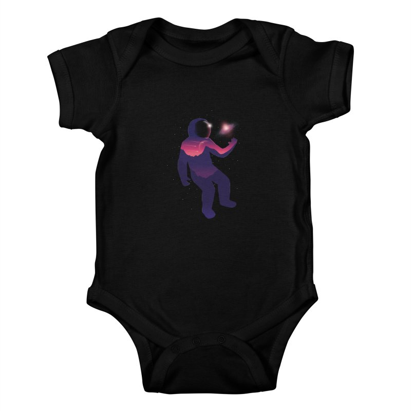 The Galaxy is not the limit Kids Baby Bodysuit by sachpica's Artist Shop