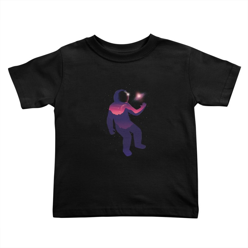 The Galaxy is not the limit Kids Toddler T-Shirt by sachpica's Artist Shop