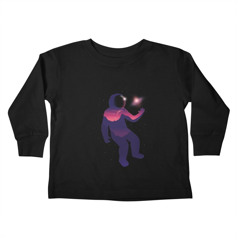 The Galaxy is not the limit Kids Toddler Longsleeve T-Shirt by sachpica's Artist Shop