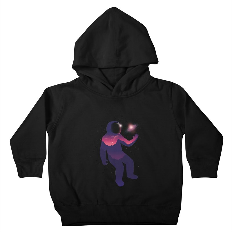 The Galaxy is not the limit Kids Toddler Pullover Hoody by sachpica's Artist Shop