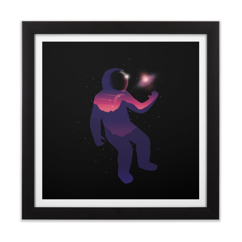 The Galaxy is not the limit Home Framed Fine Art Print by sachpica's Artist Shop