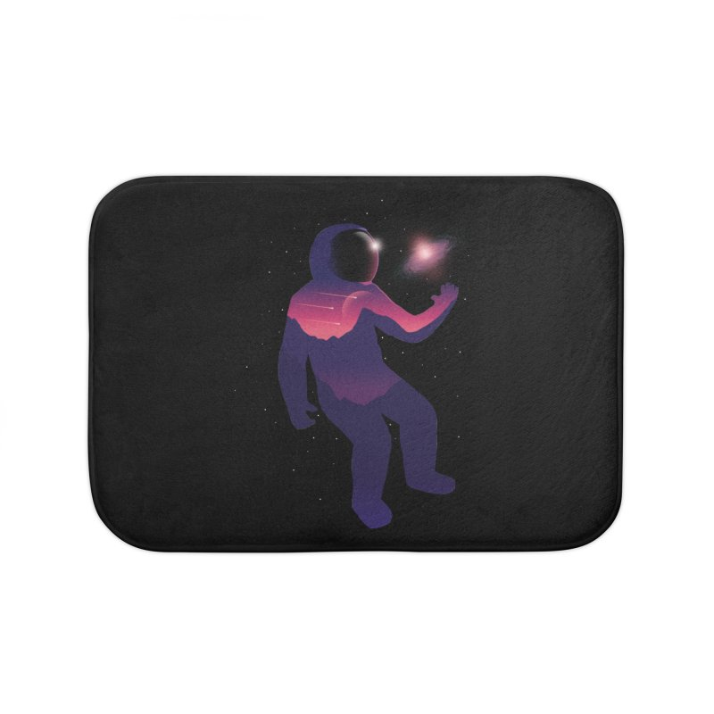 The Galaxy is not the limit Home Bath Mat by sachpica's Artist Shop
