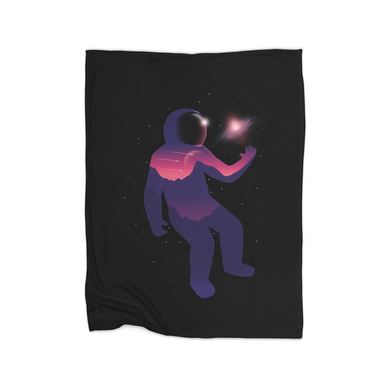 The Galaxy is not the limit Home Blanket by sachpica's Artist Shop