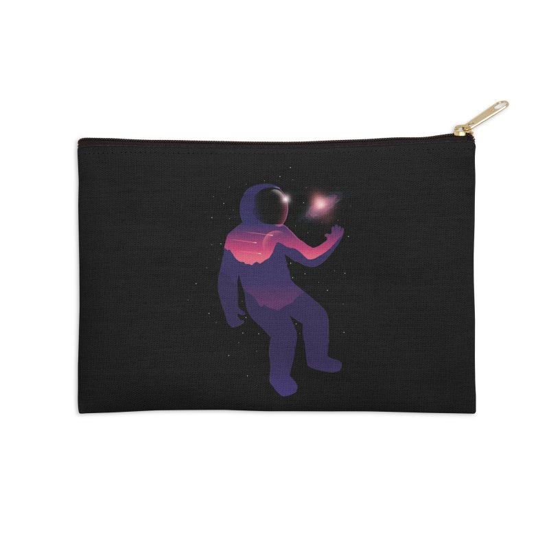 The Galaxy is not the limit Accessories Zip Pouch by sachpica's Artist Shop