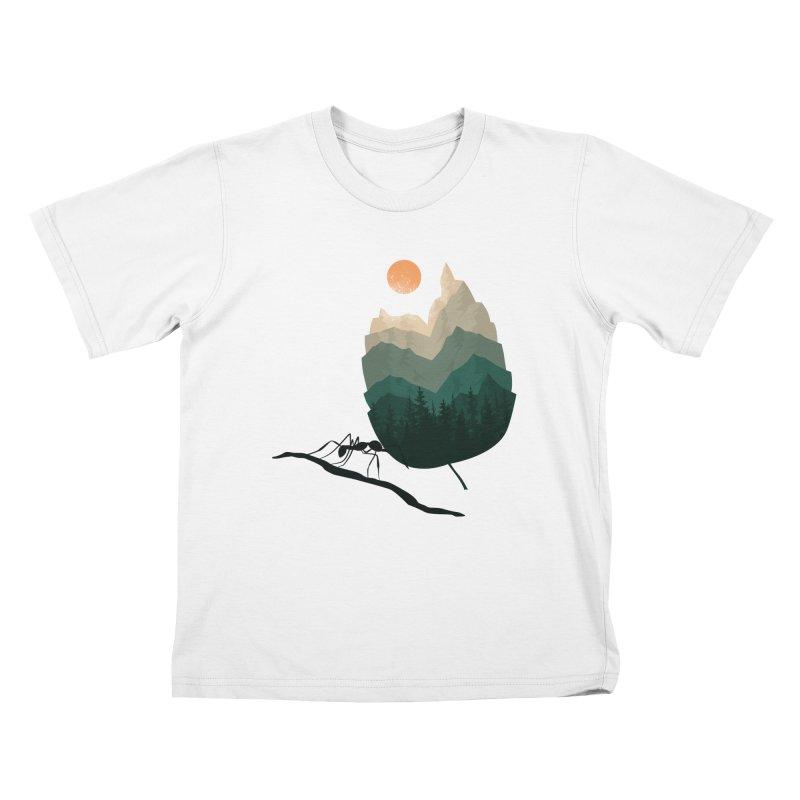 Healthy Diet Kids T-Shirt by sachpica's Artist Shop
