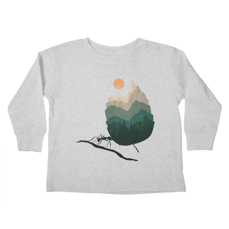 Healthy Diet Kids Toddler Longsleeve T-Shirt by sachpica's Artist Shop