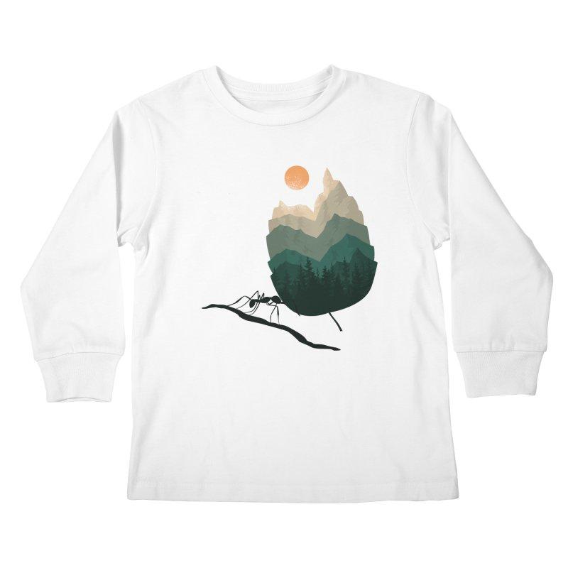 Healthy Diet Kids Longsleeve T-Shirt by sachpica's Artist Shop