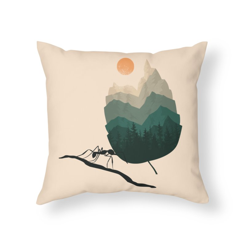 Healthy Diet Home Throw Pillow by sachpica's Artist Shop