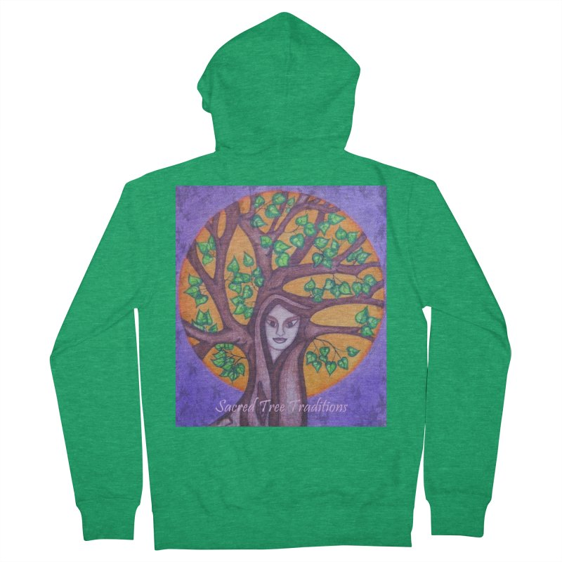 Women's Apparel Women's Zip-Up Hoody by sacredtreetraditions's Artist Shop