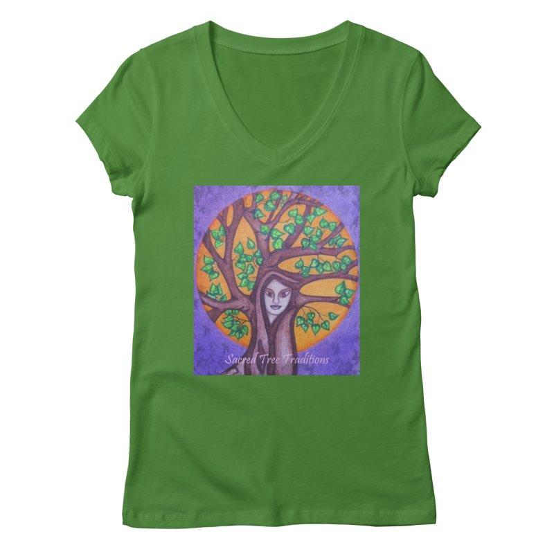 Women's Apparel Women's V-Neck by sacredtreetraditions's Artist Shop
