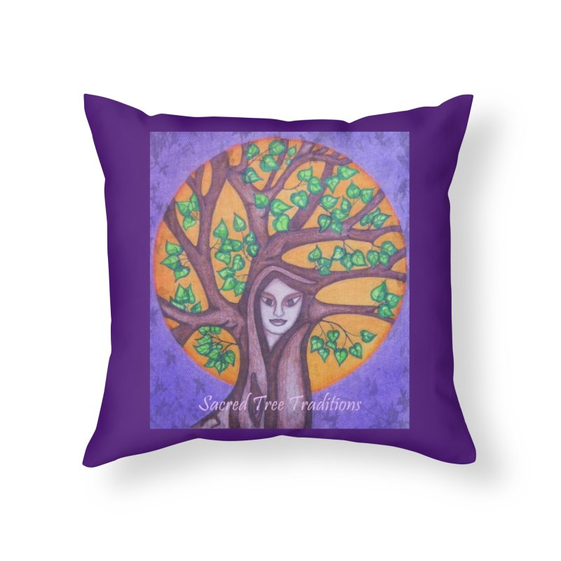 Sacred Tree Traditions Accessories Home Throw Pillow by sacredtreetraditions's Artist Shop