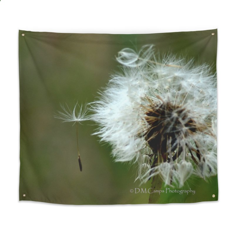 Dandy Lion Seedball Home Tapestry by sacredtreetraditions's Artist Shop