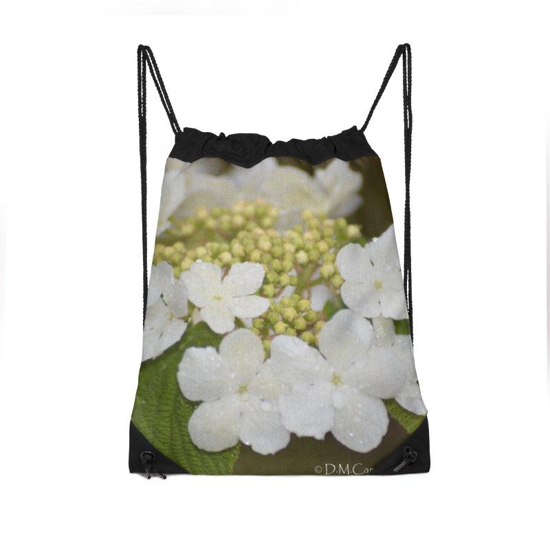 Hobble Bush Blossoms Accessories Bag by sacredtreetraditions's Artist Shop