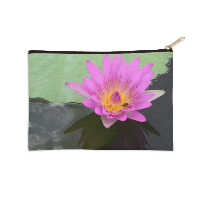 Water Lily Accessories Zip Pouch by sacredtreetraditions's Artist Shop