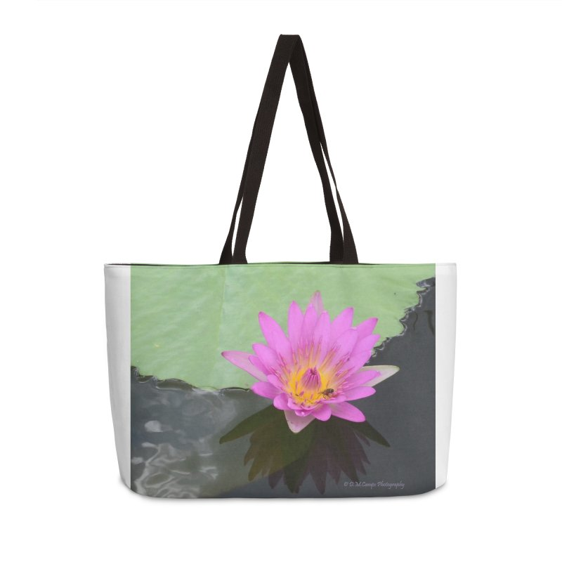 Water Lily Accessories Bag by sacredtreetraditions's Artist Shop