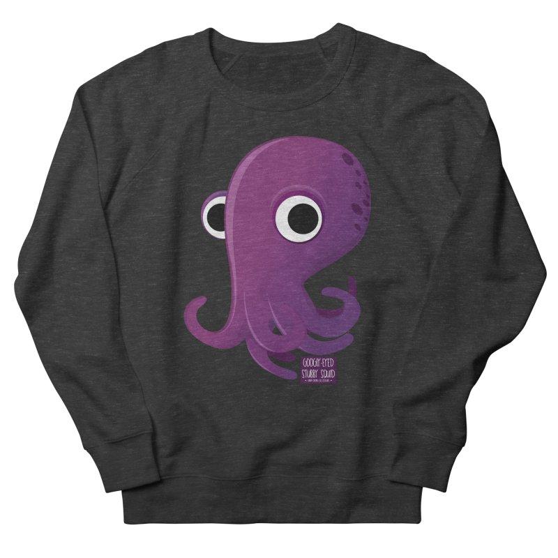 Googly eyed stubby squid Women's Sweatshirt by sadhustudio's Artist Shop